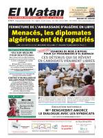Menacés, les diplomates algériens ont été rapatriés