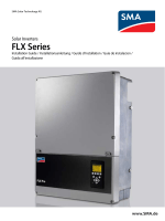 """FLX Series - Installation Guide / Installationsanleitung / Guide d"