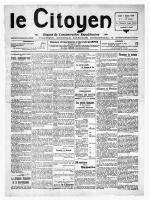 LE CITOYEN DU JEUDI 07 AU JEUDI 28 JANVIER 1926