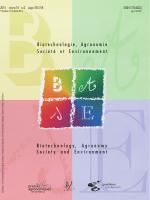 ISSN 1370-6233 - Les Presses agronomiques de Gembloux