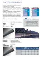 TUBES PVC ASSAINISSEMENT