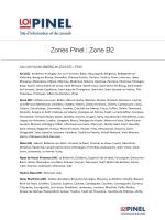 Voir la liste des communes éligibles en Zone B2 Pinel