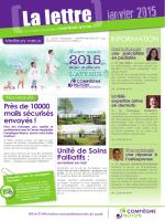 LETTRE AUX PRO N°4.indd - Centre hospitalier de Compiègne