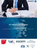Programme du workshop