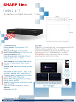 SHARP line DVR42—4CE - Thermic Charpentier