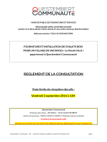 reglement de la consultation - La salle des marchés MEGALIS