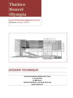 Théâtre Nouvel Olympia - Centre dramatique régional de Tours