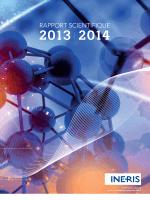 Rapport scientifique 2013-2014