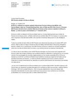 1/3 Communiqué de presse BSI Panama adopte le B
