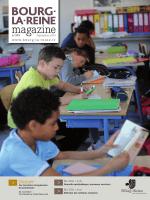 Bourg-la-Reine magazine - septembre 2014 (pdf