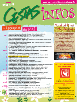 Mai 2014 - Mairie de Cestas