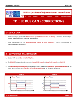 td : le bus can (correction) 1