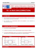 td : le bus can (correction) 1