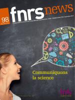 Communiquons la science