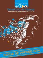 revue de presse 2014 - Marathon de Vannes