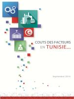 Coûts des facteurs en TUNISIE – FIPA