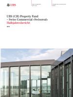 Halbjahresbericht - Swiss Fund Data