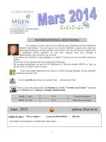Mars 2014 - Club MGEN 64