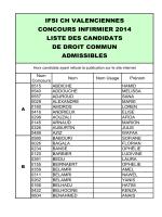 03 LISTE DES ADMISSIBLES DC 2014 a mettre en ligne