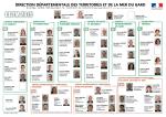 Organigramme DDTM30 - mars 2015 - Les services de l`État dans le