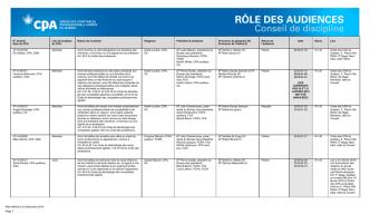 2015-12-23 No dossier PDF - Ordre des CPA du Québec