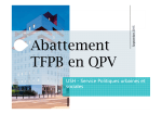 Cadre abattement TFPB - (AR) Nord-Pas-de