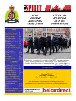 Fall 2015 - RCMP-GRC Vets Ottawa