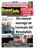 Mercredi 20 Janvier 2016 - Ouest-Info