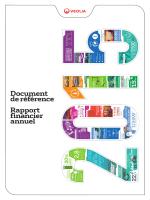 Document de référence Rapport financier annuel - Finance