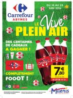 CARREFOUR HYPERMARCHE PLEIN AIR Du 14/06/ au