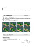 CHAPITRE 1 FEUILLE N°1 - LIAISONS ET MÉCANISMES