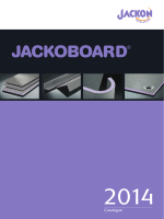JACKOBOARD catalogue 2014