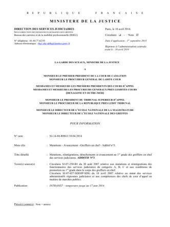 3eme additif gec - syndicat des greffiers en chef cfe-cgc