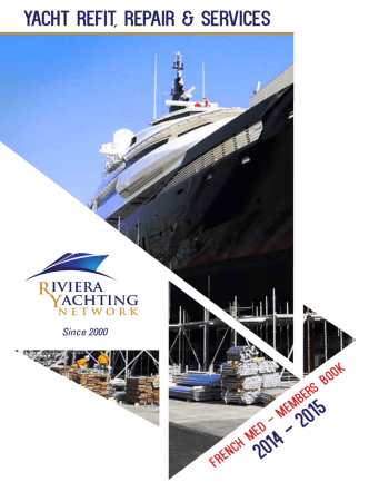 Annuaire des membres - Riviera Yachting Network