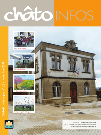 Bulletin municipal n°52 - Châteauneuf-sur
