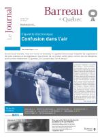 Journal du Barreau - Volume 46, numéro 9