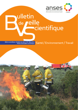 Bulletin de veille scientifique - BVS 23
