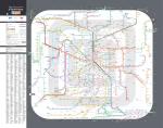 Plan du réseau régional des transports