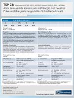 TSP 23 - ThyssenKrupp Materials Schweiz