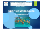 Sport et Ménopause