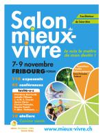 7- 9 novembre - Salon du mieux
