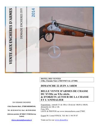 catalogue vente 22 juin