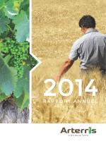 Rapport Annuel 2014 ARTERRIS