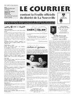 No 8 - 28 février - Imprimerie du Courrier, La Neuveville