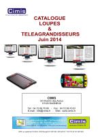 Catalogue téléagrandisseurs