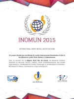 INTERNATIONAL NORTH MODEL UNITED NATIONS Un