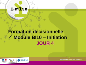 BI10 - Formation décisionnel - Initiation