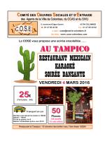 TAMPICO 2016.pub - Cose de Colombes