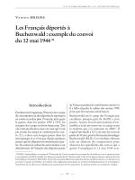 exemple du convoi du 12 mai 1944 - Blog de l`Association Française