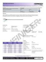 Données techniques - Heiniger Kabel AG